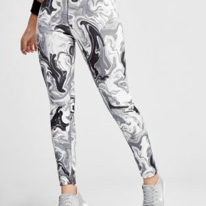 Nike Marble All Over Print Leggingsit Harmaa