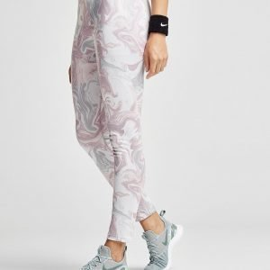 Nike Marble All Over Print Leggingsit Vaaleanpunainen
