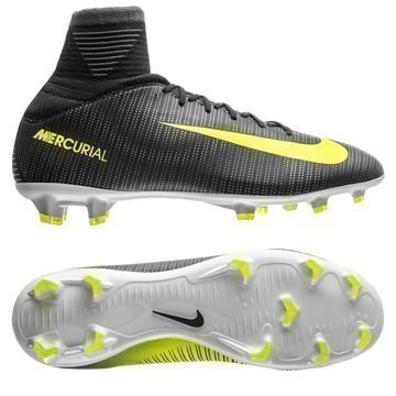 Nike Mercurial Superfly V CR7 Chapter 3: Discovery FG Vihreä/Neon Lapset
