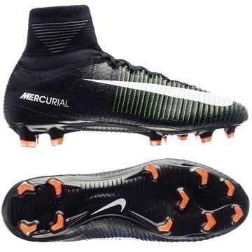 Nike Mercurial Superfly V FG Dark Lightning Pack Musta/Valkoinen/Vihreä