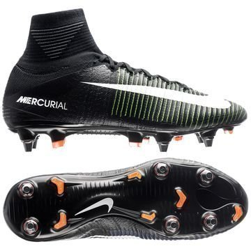 Nike Mercurial Superfly V SG-PRO Dark Lightning Pack Musta/Valkoinen/Vihreä