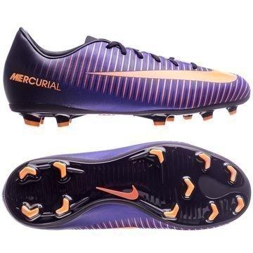 Nike Mercurial Vapor XI FG Floodlights Pack Violetti/Oranssi Lapset