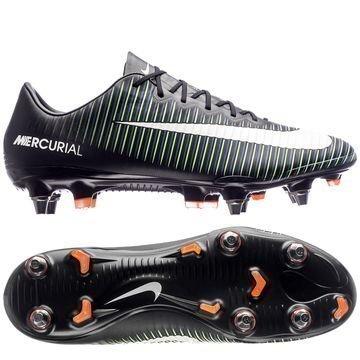 Nike Mercurial Vapor XI SG-PRO Dark Lightning Pack Musta/Valkoinen/Vihreä