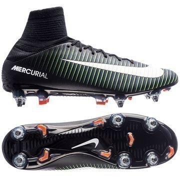 Nike Mercurial Veloce III DF SG-PRO Dark Lightning Pack Musta/Valkoinen/Vihreä