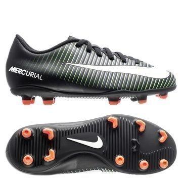 Nike Mercurial Vortex III FG Dark Lightning Pack Musta/Valkoinen/Vihreä Lapset