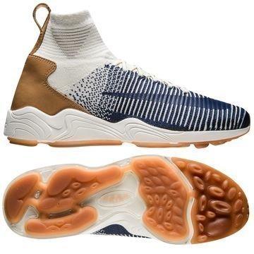 Nike Mercurial XI Flyknit Valkoinen/Navy