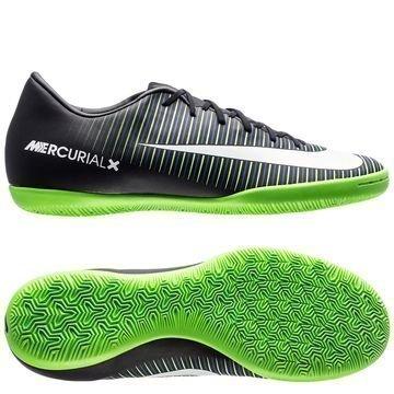 Nike MercurialX Victory VI IC Dark Lightning Pack Musta/Valkoinen/Vihreä