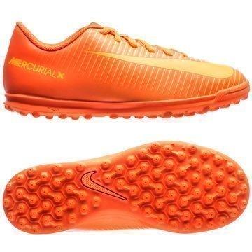 Nike MercurialX Vortex III TF Floodlights Glow Pack Oranssi Lapset