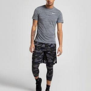 Nike Miler Essential T-Paita Harmaa