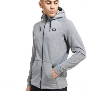 Nike Modern French Terry Full Zip Hoodie Carbon Heather