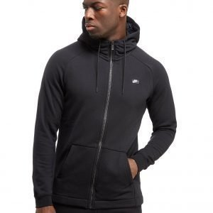 Nike Modern French Terry Full Zip Hoodie Musta