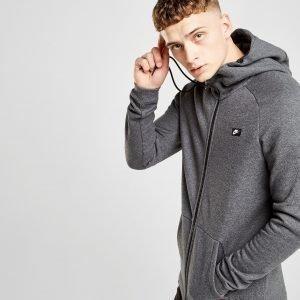Nike Modern Full Zip Hoodie Charcoal