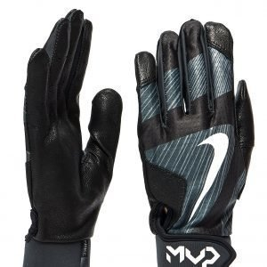 Nike Mvp Edge Batting Gloves Musta