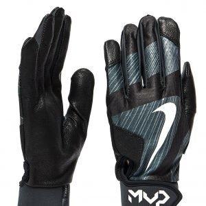 Nike Mvp Edge Batting Gloves Musta