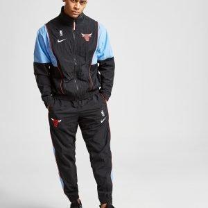 Nike Nba Chicago Bulls Woven Puku Musta
