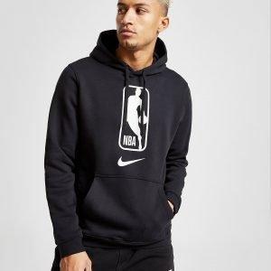 Nike Nba Fleece Overhead Hoodie Musta