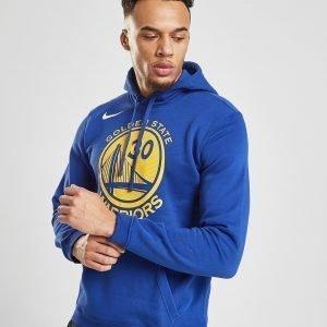 Nike Nba Golden State Warriors City Hoodie Sininen