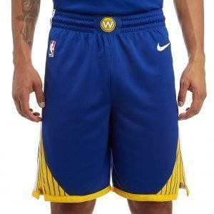 Nike Nba Golden State Warriors Swingman Shorts Sininen
