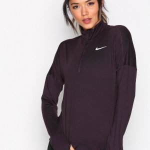 Nike Nk Dry Elmnt Top Hz Vetoketjullinen Treenipusero Wine