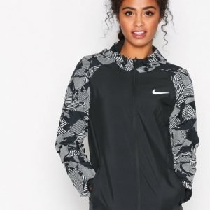 Nike Nk Flsh Essntl Jacket Hd Treenitakki Musta