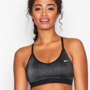 Nike Np Indy Bra Sparkle Urheiluliivit Keskivahva Tuki Musta / Hopea