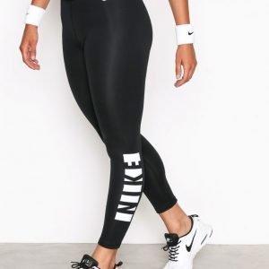Nike Np Wm Tight Hrngbn Treenitrikoot Musta