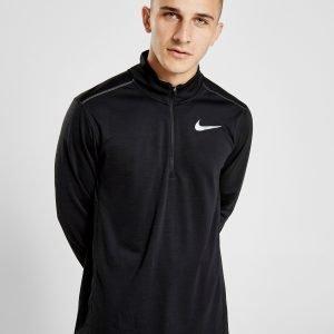 Nike Pacer 1/2 Zip Track Top Musta