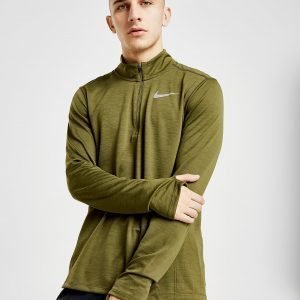 Nike Pacer 1/2 Zip Track Top Vihreä