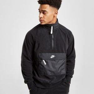 Nike Polar Fleece 1/2 Zip Paita Musta