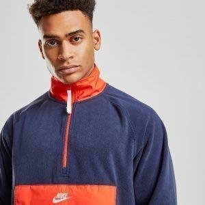Nike Polar Fleece 1/2 Zip Paita Sininen