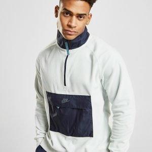 Nike Polar Fleece 1/2 Zip Paita Valkoinen