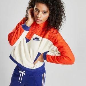 Nike Polar Fleece 1/4 Zip Sweatshirt Kermanvalkoinen