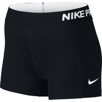 """Nike Pro Cool 3"""" Trikoot Musta Naiset"""