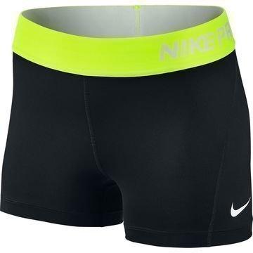 """Nike Pro Cool 3"""" Trikoot Musta/Neon"""