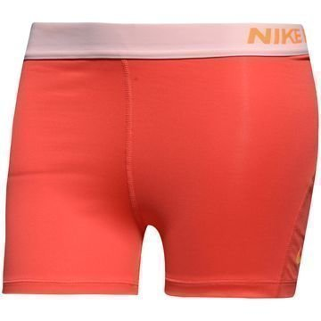 """Nike Pro Cool 3"""" Trikoot Punainen/Oranssi Naiset"""