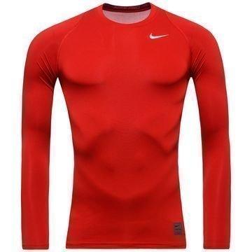 Nike Pro Cool Compression L/S Punainen