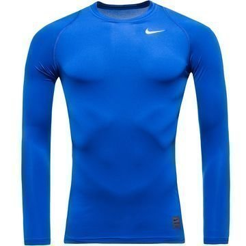 Nike Pro Cool Compression L/S Sininen