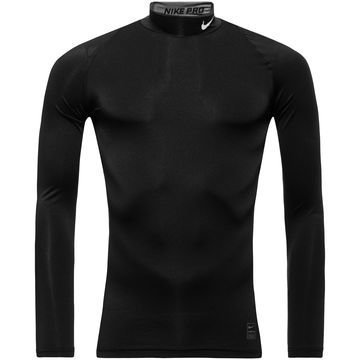 Nike Pro Cool Compression Mock L/S Musta