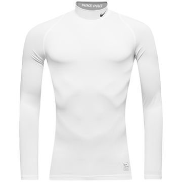 Nike Pro Cool Compression Mock L/S Valkoinen