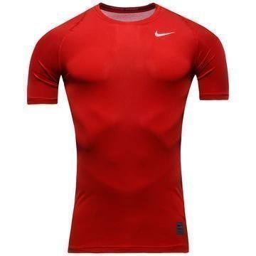 Nike Pro Cool Compression S/S Punainen