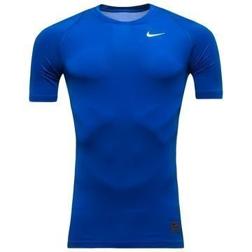 Nike Pro Cool Compression S/S Sininen
