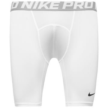 "Nike Pro Cool Compression Trikoot 6"" Valkoinen/Hopea"