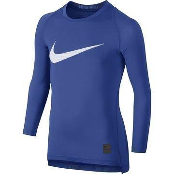 Nike Pro Cool HBR Compression L/S Sininen Lapset