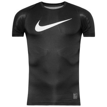 Nike Pro Cool HBR Compression Musta/Valkoinen Lapset