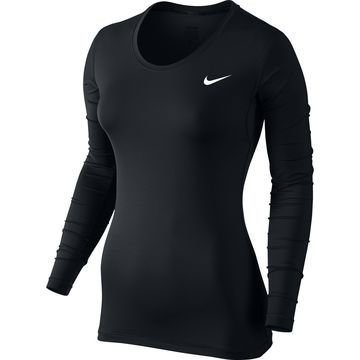 Nike Pro Cool L/S Musta Naiset