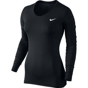 Nike Pro Cool L/S Musta Naiset