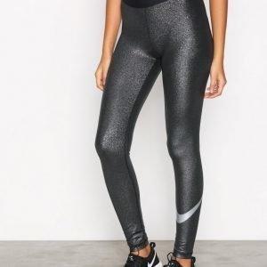 Nike Pro Cool Tight Sparkle Treenitrikoot Musta / Hopea