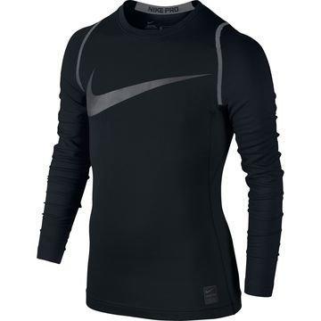 Nike Pro Hyperwarm Top Musta/Harmaa Lapset