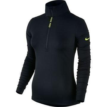 Nike Pro Hyperwarm Top Musta/Neon Naiset