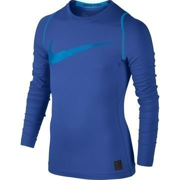 Nike Pro Hyperwarm Top Sininen Lapset